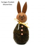 1 Stk. Bastelset Wolldocht Hase braun/orange
