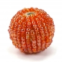 1 Stk. Beaded Bead orange