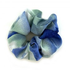 Scrunchie Silky / Sea breeze