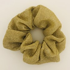 Scrunchie Glitzer / Gold